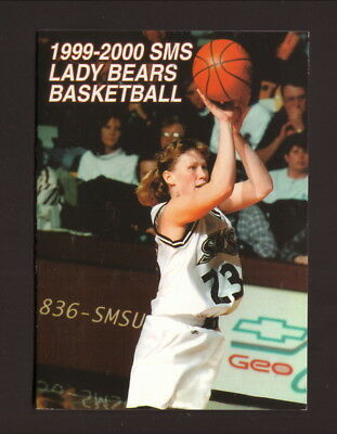 $0.99 • Buy Southwest Missouri State Bears--1999-00 Basketball Pocket Schedule