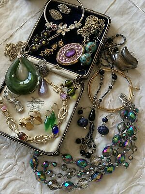 Collection Job Lot Of Vintage 1950s/60s/70s  Costume Jewellery  Lovely Condition • 9.99£