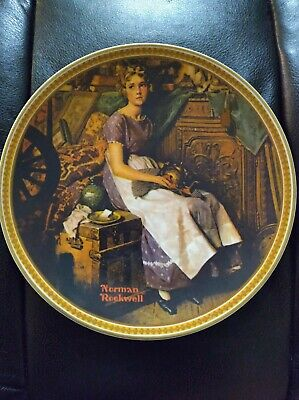 $ CDN7.51 • Buy Norman Rockwell's Rediscovered Women  DREAMING IN THE ATTIC  Plate Knowles