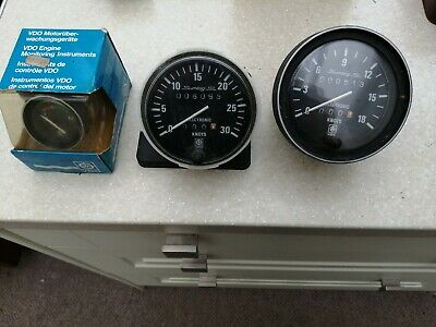 £40 • Buy .Boat Gauges. 2 Logs And A Fuel Guage