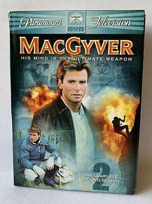 $11.99 • Buy 6 DVD Collection MacGyver TV Show The Complete 2nd Season Richard Dean Anderson