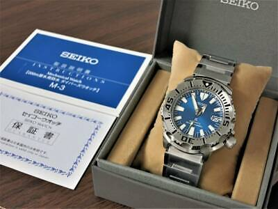 $ CDN1601.97 • Buy Seiko Prospex Blue Monster Automatic 6R15-02X0 Date Men's Wl26289