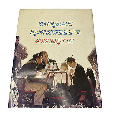 $ CDN61.68 • Buy 1975 NORMAN ROCKWELL'S America By Christopher Finch Large Table Book Foldouts