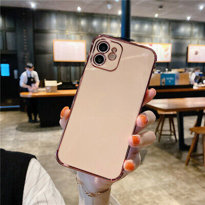 AU11.25 • Buy Shockproof Case For IPhone 12 11 Pro Max 12 Mini XS Max XR X 8 7Plus Plating TPU