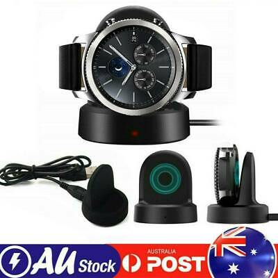 AU13.99 • Buy NEW Wireless Charger Charging Dock For Samsung Galaxy Watch 42MM-46MM SM-R800 AU