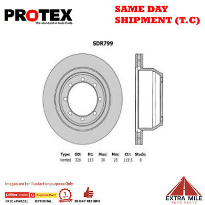 AU516.05 • Buy Protex Rear Rotor Pair For FORD F250/F350 7.3L/6.0L 1994 - 2007