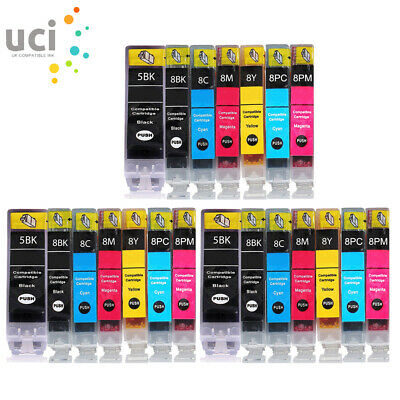 £3.45 • Buy Ink Cartridges For Canon Pixma IP7600 MP950 MP960 MP970 Pro 9000 IP7500 LOT