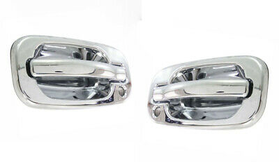 $49.99 • Buy 1999-2006 Chevy Silverado GMC Sierra For Outside Door Handles Front Pair Chrome