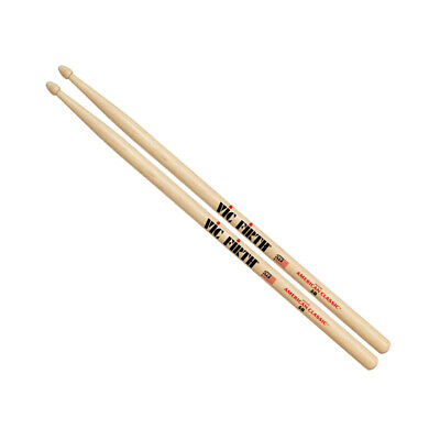 AU16.70 • Buy Vic Firth 5B Wood Tip American Classic Hickory Drumsticks