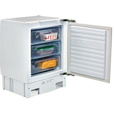 Hisense FUV126D4AW11 Integrated 91L A+ Under Counter Freezer, Built In • 49£