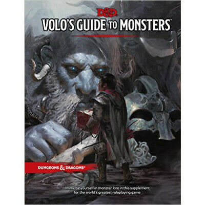 AU59.50 • Buy D&D Volo's Guide To Monsters - Hard Cover 5th Edition Book Dungeons And Dragons