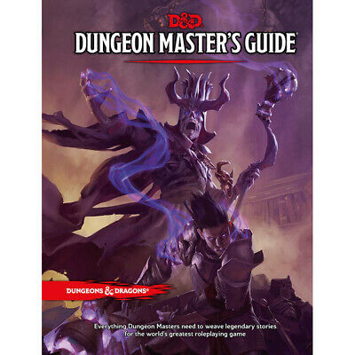 AU59.50 • Buy D&D Dungeon Master's Guide - Hard Cover 5th Edition Book Dungeons And Dragons