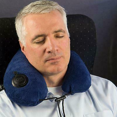 AU47.90 • Buy Bucky Gusto Inflatable Neck Travel Pillow With On Air Technology