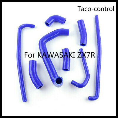 $59.99 • Buy For Kawasaki ZX-7R ZX7R ZX750P 1996-03 97 98 99 Silicone Radiator Coolant Hose