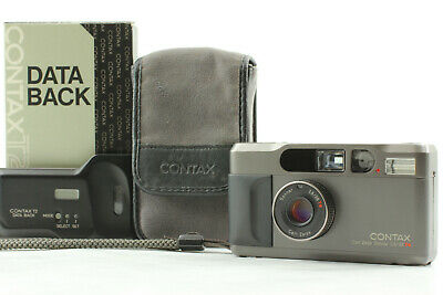 $ CDN1624.73 • Buy [Near Mint In Case] CONTAX T2 Titanium Black With DATE BACK From JAPAN