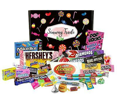 £12.99 • Buy American Sweets & Chocolate USA Candy Letterbox Gift Import Sweets