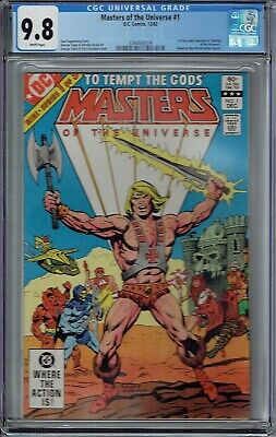 $959.99 • Buy Cgc 9.8 Masters Of The Universe #1 White Pages 1st Full He-man Dc Comics 1982