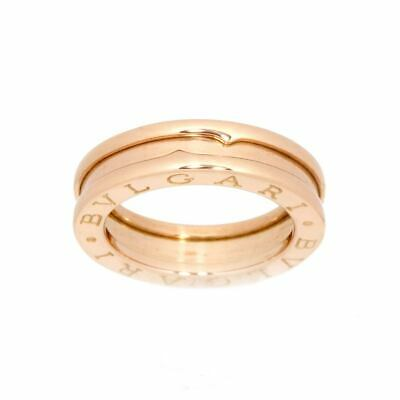 AU666.25 • Buy BVLGARI B-zero1 Ring 18K PG Pink Gold 750 Size46 3.75(US) 90122653