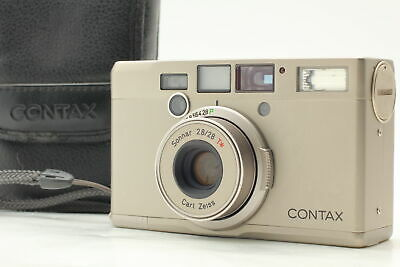 $ CDN249.95 • Buy CONTAX Tix Carl Zeiss Sonnar T* 28mm F/2.8 APS Film Camera JAPAN [Near MINT]