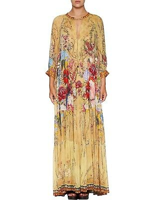 AU480 • Buy Camilla  Among The Gumtrees  Tiered Maxi Dress Size S New With Tags