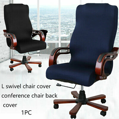 AU25.88 • Buy Swivel Computer Chair Cover Stretch Removable Office Seat Slipcover Protector AU