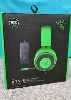AU89 • Buy Razer Kraken Tournament Edition Wired Gaming Headset With Usb Controller