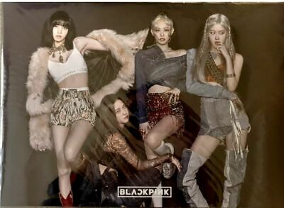 $ CDN54.45 • Buy Black Pink 12P Posters  (A3 Size) Bromide & Photo Sticker BP-14