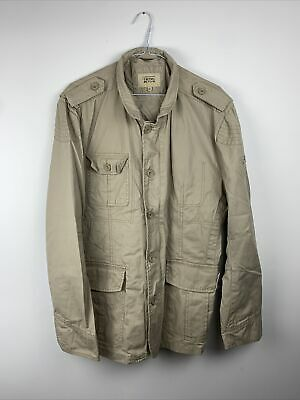 Camel Active Safari Field Jacket Fits Size Large Button Zip • 39.99£