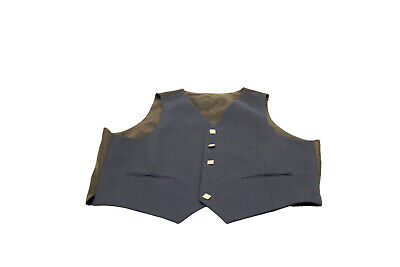 £39 • Buy Blue Argyll Kilt Vest BRAND NEW - Reduced From £99 To Clear - 44