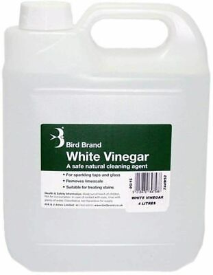 £5.90 • Buy Bird Brand White Vinegar Cleaning Limescale Glass Cleaner Stain Remover Solution
