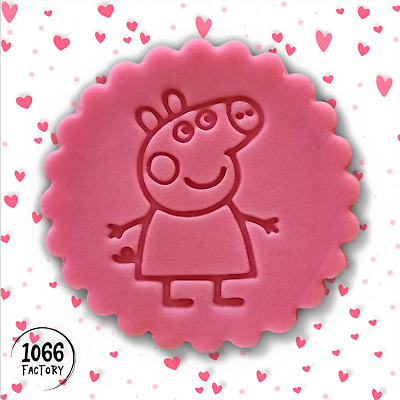 £4.95 • Buy Peppa Pig Embosser / Stamp P01 For Fondant Cake Cookie Biscuit