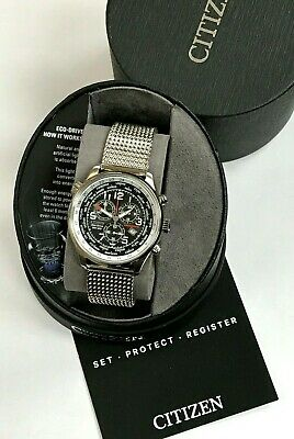 $139 • Buy Citizen Eco-Drive AT0361-81E Chronograph Stainless Steel Men's Watch WARRANTY
