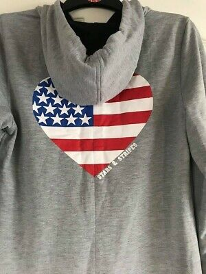 AU29.70 • Buy Unwanted Christmas Gift. Boohoo Stars And Stripes One Piece Nightwear, Size 10.