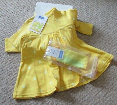 Babies Marese Dress And Socks Age 6 Months • 5£
