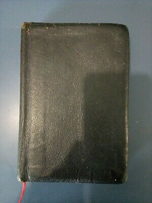 AU19.66 • Buy Scofield Reference Bible 1945 Leather - Worn -KJV