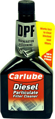 Carlube Diesel Particulate Filter DPF Cleaner 300ml Remover Exhaust System • 9.95£