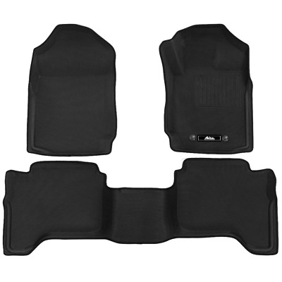 AU129.80 • Buy Weisshorn Ford Ranger Car Floor Mats PX PX2 PX3 Dual Cab 2011-2019 3D Rubber