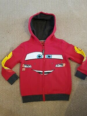Red Lightning Mcqueen Hoody Size 4-5years • 10£