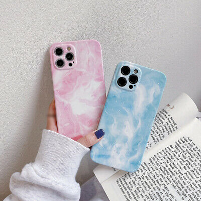 AU5.74 • Buy For IPhone 12 Pro Max 11 XS XR 8 7 X Shockproof Marble Patterned Soft Case Cover