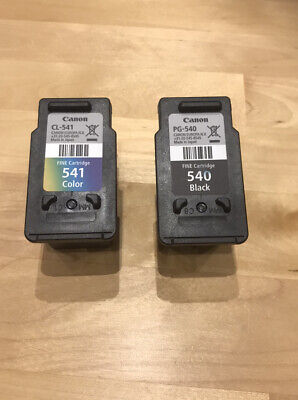 Canon Ink Cartridges PG-540 And CL-541 Empty • 8.99£
