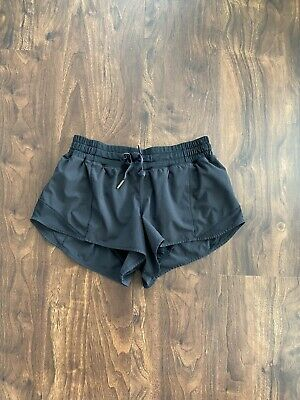 $ CDN74.99 • Buy Lululemon Hotty Hot Short Shorts 2.5  Black Drawstring Size 6