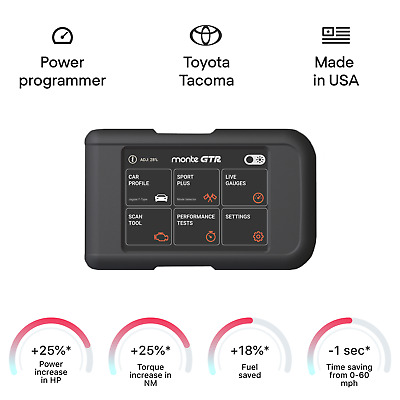 $349 • Buy Toyota Tacoma Smart Engine Tuning Chip Power Programmer Performance Tuner OBD2