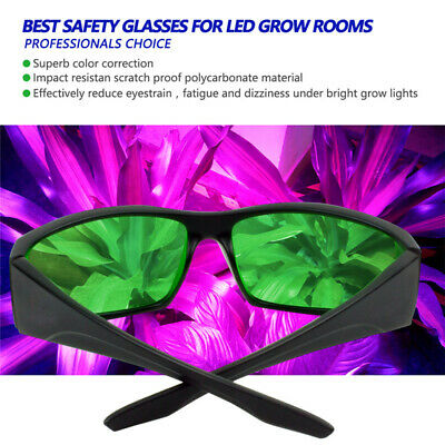 Grow Light Room Glasses Horticulture UVA UVB LED Indoor Growing Hydroponics CR • 13.95£