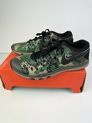 £44.90 • Buy Nike Train Speed 4 Camo Fingertrap Running Training Shoes Trainers Size UK 8.5