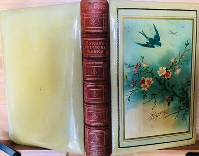 £135 • Buy Lord Byron : Poetical Works : Superb Unique Binding : 1881 : VGC