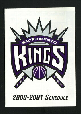 $0.99 • Buy Sacramento Kings--2000-01 Pocket Schedule--Southwest Airlines