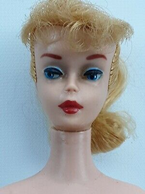 $ CDN244.37 • Buy Vintage Barbie Blonde Ponytail #5 NICE GIRL!