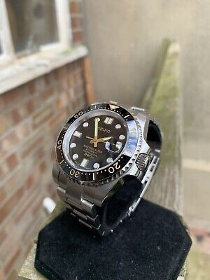 $ CDN326.69 • Buy Custom Made Seiko Submariner Mod - Automatic Seiko Nh36 Movement
