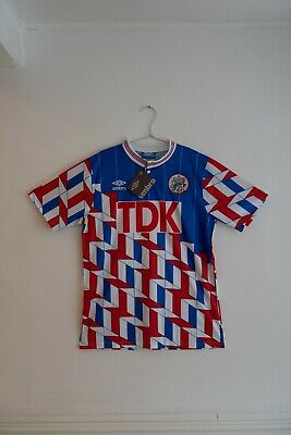 Ajax Holland Football Soccer Away Shirt Jersey Retro Vintage Classic Umbro 1989  • 0.99£