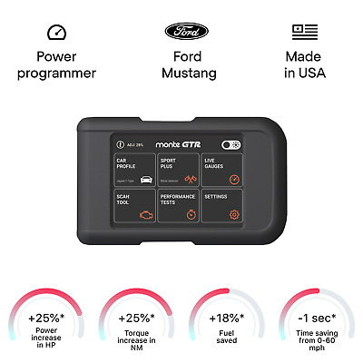 $349 • Buy Ford Mustang GT Smart Tuning Chip Power Programmer Performance Tuner OBD2